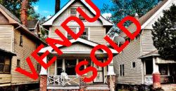 [$60K – $65K] Villa 3 chambres à Cleveland Ohio, USA