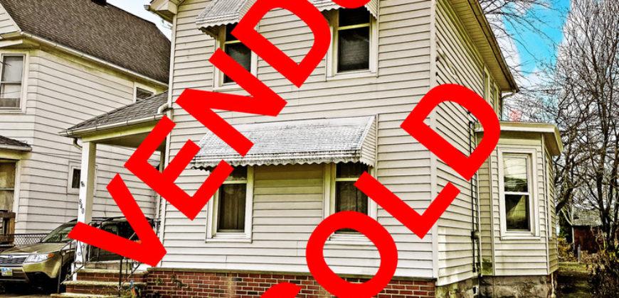 [$62K-$70K] Grande maison en vente dans le quartier Collinwood prisé par les investisseurs a Cleveland