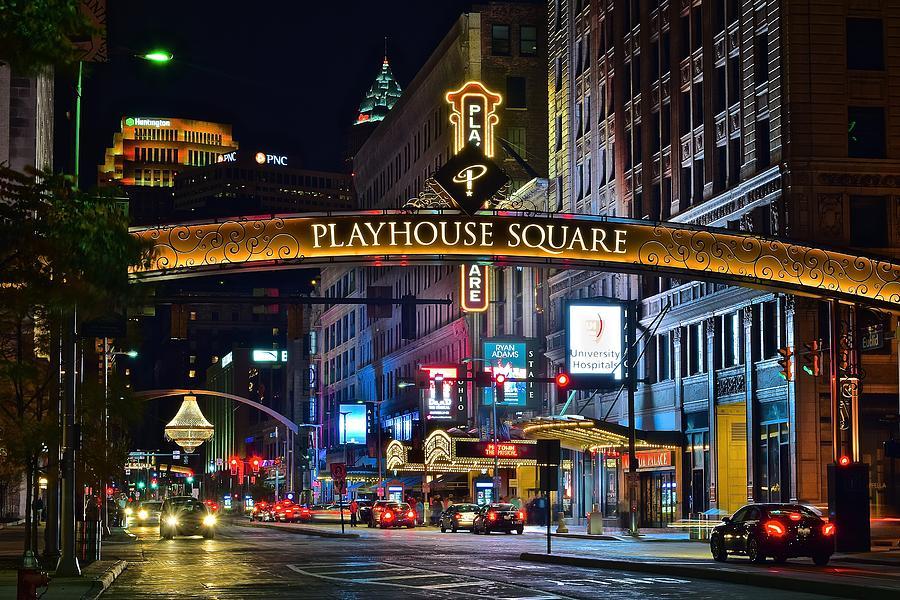 Playhouse Square, le broadway de Cleveland avec les théâtres